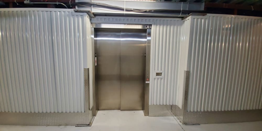 Elevator at Devon Self Storage in Charleston, South Carolina