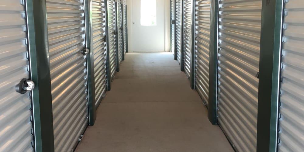 Air-conditioned units at Devon Self Storage