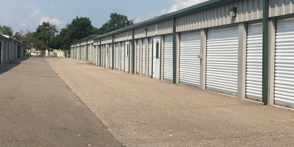 Plenty of different unit sizes available at Devon Self Storage