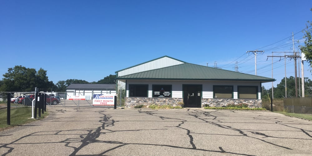 Exterior at Devon Self Storage in Wyoming, Michigan