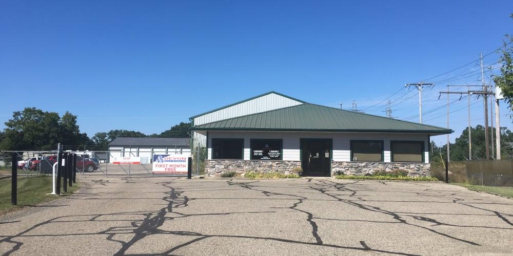 Exterior at Devon Self Storage in Wyoming, Michigan
