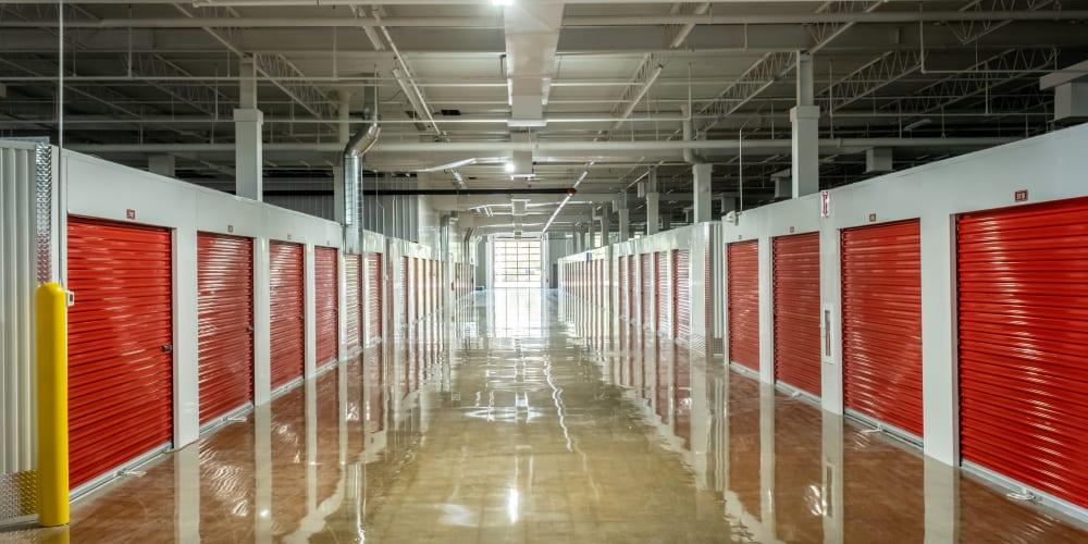 Interior units at Devon Self Storage