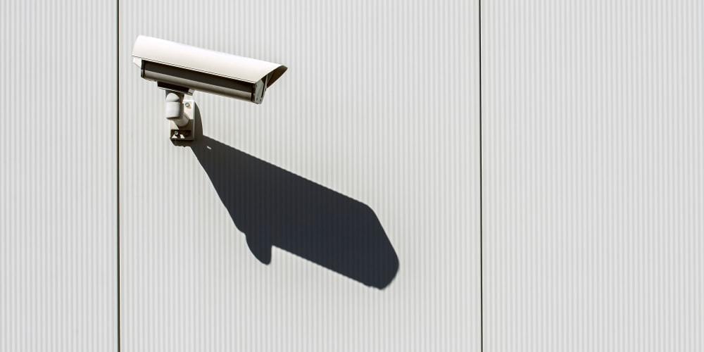 Security camera at Devon Self Storage in Athens, Georgia