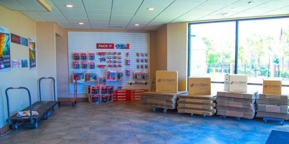 Packing supplies available at StorQuest Self Storage in Aurora, Colorado