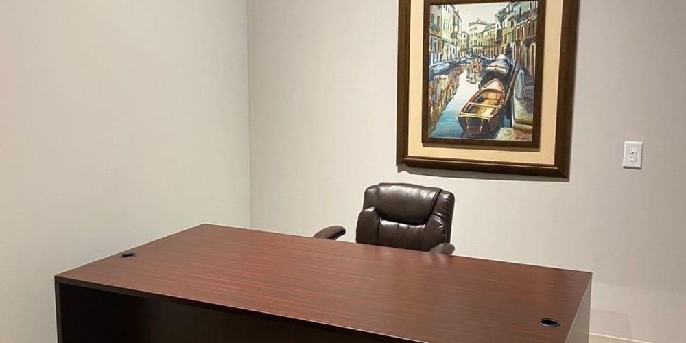 Desk at Devon Self Storage in Charleston, South Carolina