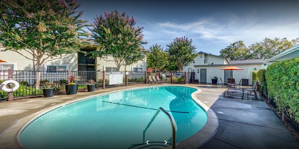 View a virtual tour of our community at Pleasanton Place Apartment Homes in Pleasanton, California