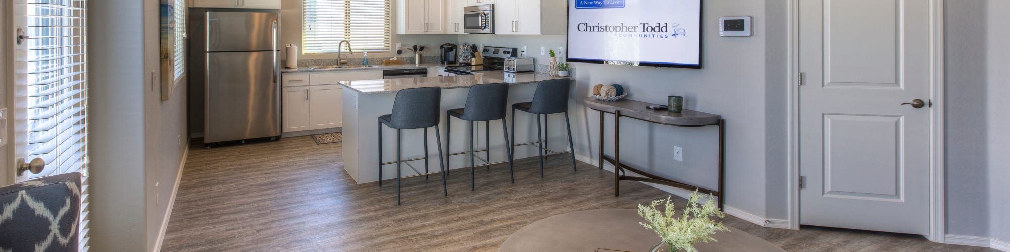 Floor plans at Christopher Todd Communities At Stadium in Glendale, Arizona