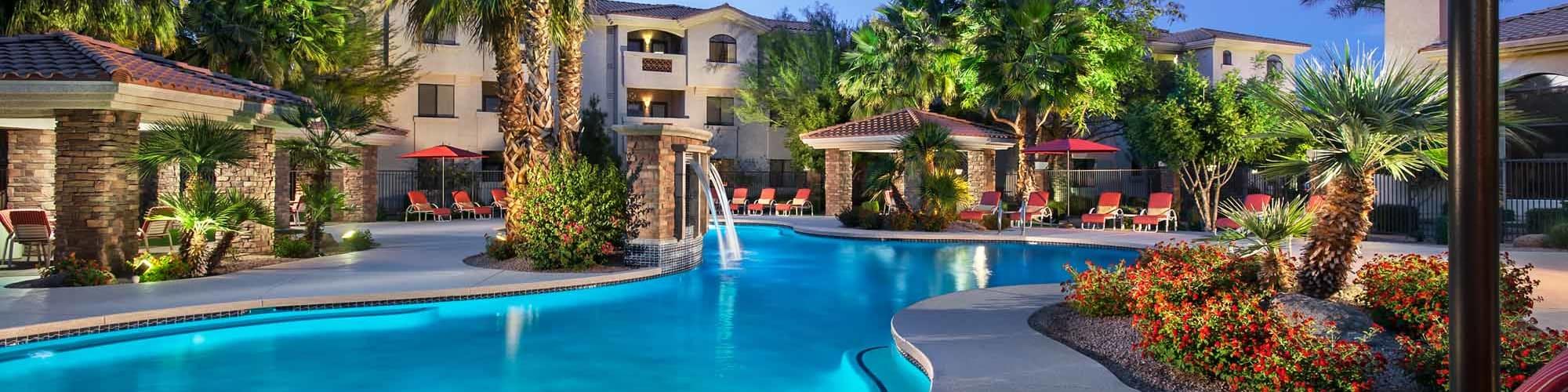 Virtual tour of San Hacienda in Chandler, Arizona