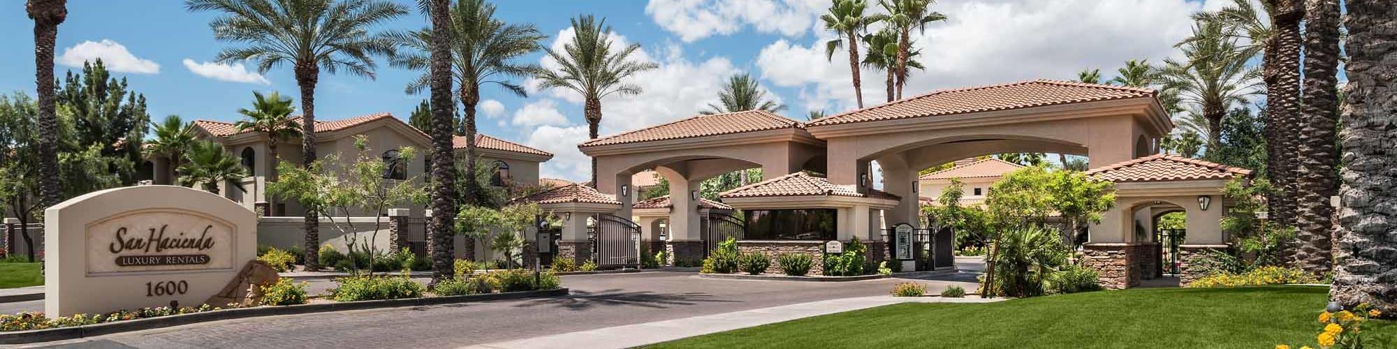 Schedule a tour of San Hacienda in Chandler, Arizona