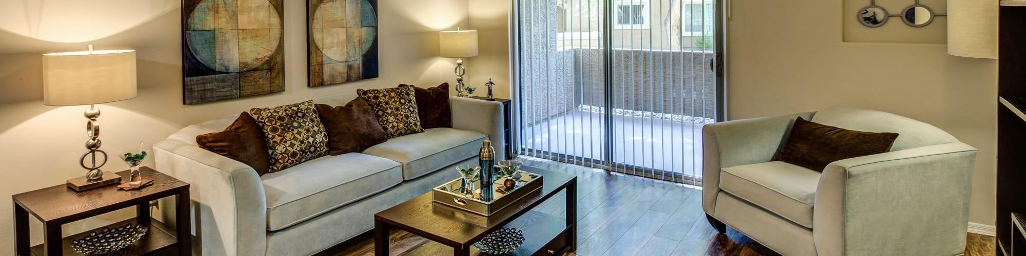 Floor plans at The Regents at Scottsdale in Scottsdale, Arizona