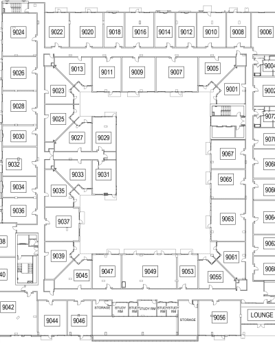The Local Apartments level 9 site plan