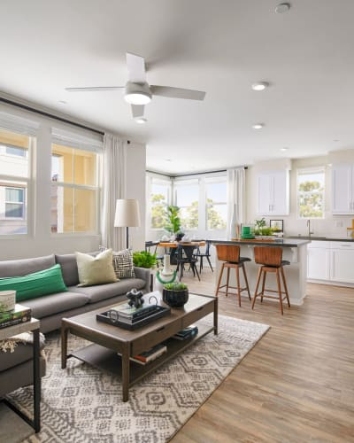 Design Perks at Lincoln Village in Riverside, California