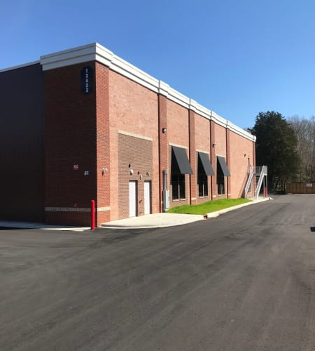 Exterior view at Steele Creek Self Storage in Charlotte, NC