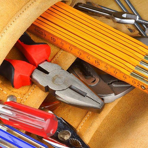 Maintenance Tools at Downtown Belmar Apartments