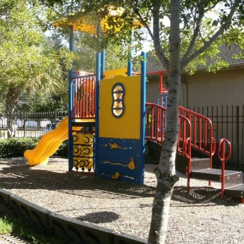 Playground in the sun at 2929 Dunvale in Houston, Texas