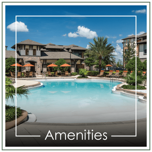 View amenities at The Courtney at Universal Boulevard in Orlando, Florida