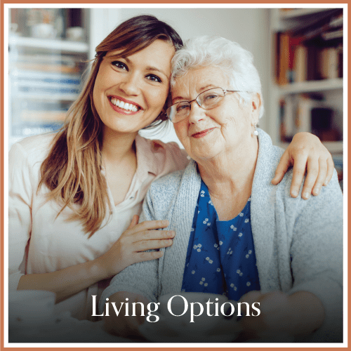 Living options at Magnolia Place in Bakersfield, California