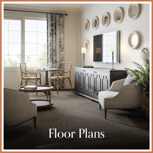 Floor plans at Magnolia Place in Bakersfield, California