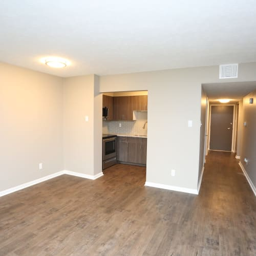 Spacious floor plans at The August Apartments in Lexington, Kentucky