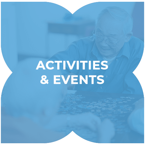 Activities and events at Harmony at Chantilly in Herndon, Virginia