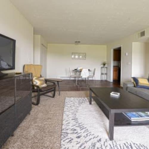 Oakwood Apartments living room