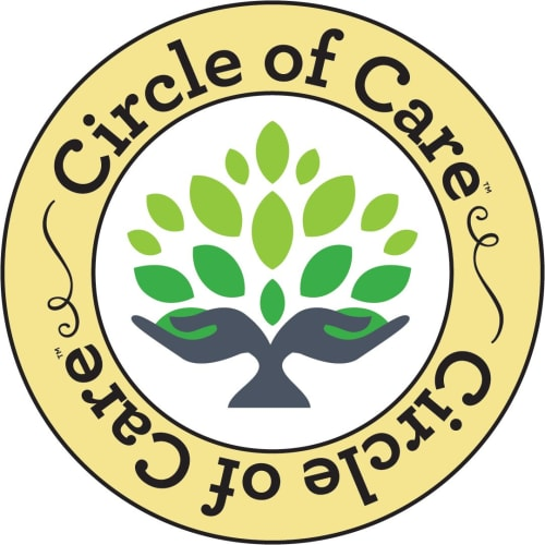 Circle of care logo at Garden Place Columbia in Columbia, Illinois.