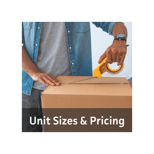 Unit sizes and prices at Barth Storage - 60th Ave in Kenosha, Wisconsin