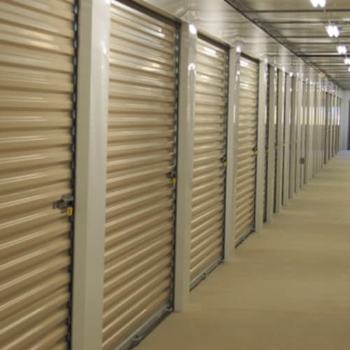 Interior storage units at Stop-N-Go Storage in Delaware, Ohio
