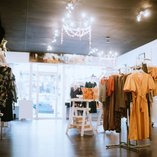 Retail shopping near Portside Ventura Harbor in Ventura, California