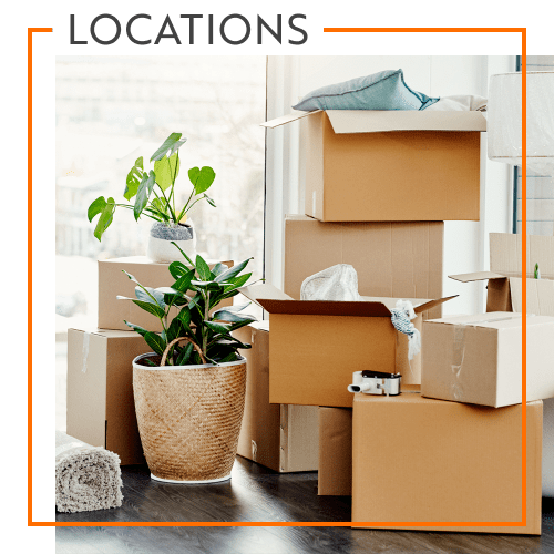 View our Storage Units locations