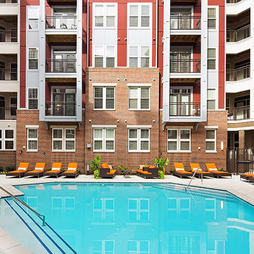 View our amenities at Palette at Arts District in Hyattsville, Maryland