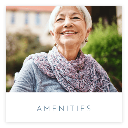 Learn more about our amenities at Estancia Senior Living in Fallbrook, California