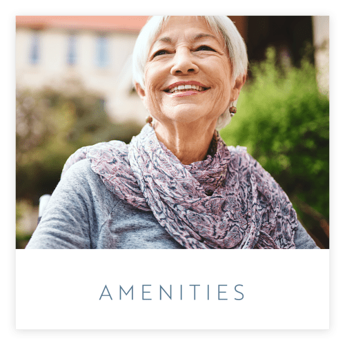 View our amenities at Estancia Senior Living in Fallbrook, California