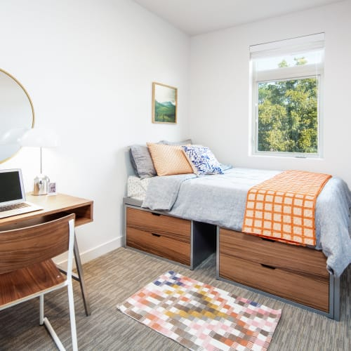 Bedroom with a view at IDENTITY Boise in Boise, Idaho