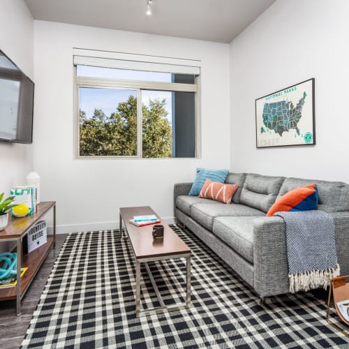 Spacious living room at IDENTITY Boise in Boise, Idaho