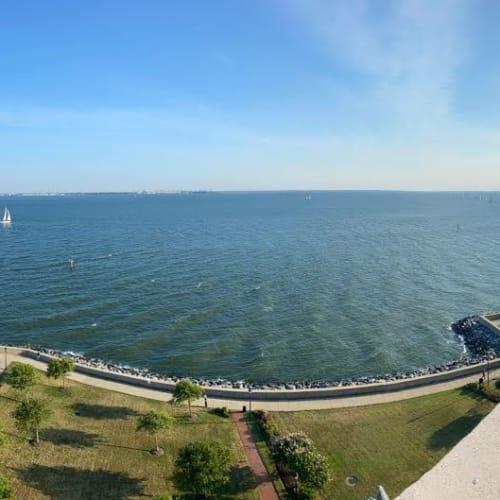Ocean view from The Chamberlin in Hampton, Virginia
