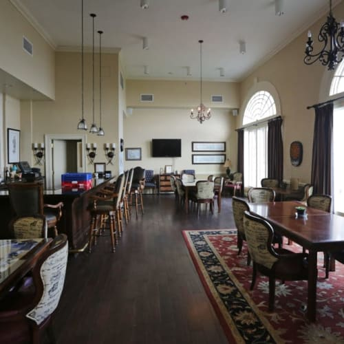 Clubhouse at The Chamberlin in Hampton, Virginia