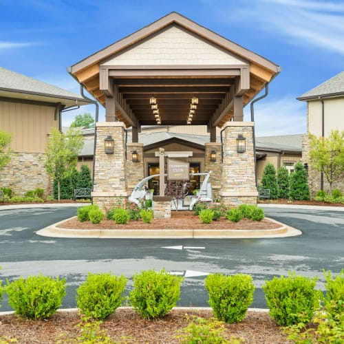 Outside rendering of building at Celebration Village Acworth in Acworth, Georgia