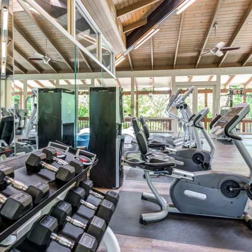 View a virtual tour of our fitness center at Rancho Los Feliz in Los Angeles, California