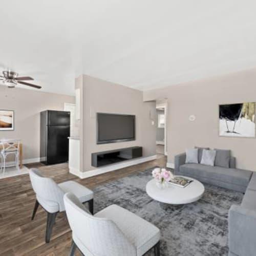 Living room at The Phoenix in Brighton, Colorado