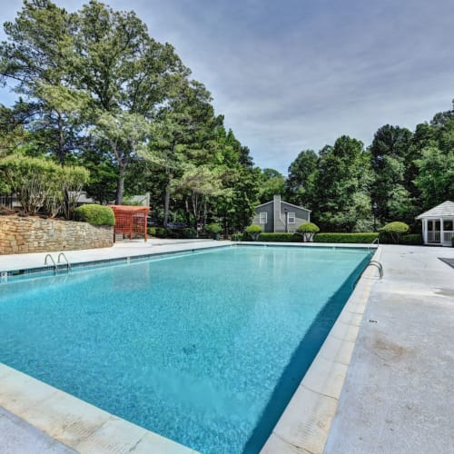 Olympic-Sized Swimming Pool at Fields at Peachtree Corners in Norcross, Georgia