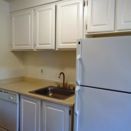 Kitchen space at Amber Park in Sacramento, California