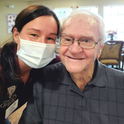Team member and resident at The Oxford Grand Assisted Living & Memory Care in Kansas City, Missouri