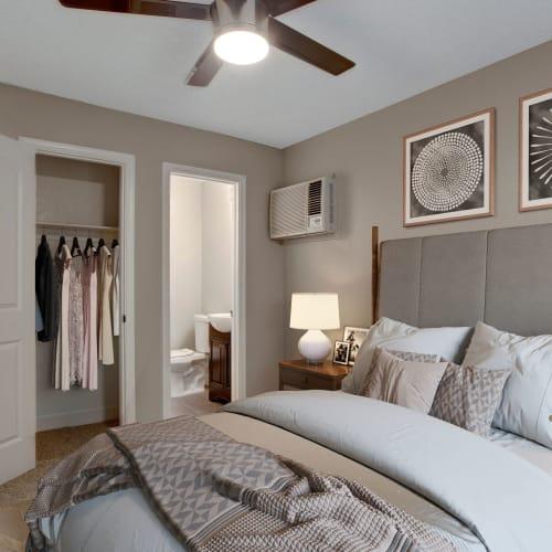 Spacious bedroom at The Hawthorne in Carmichael, California