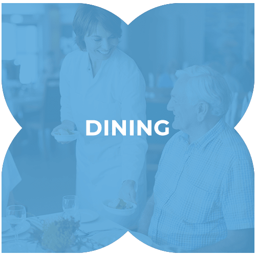 Dining at Harmony at Kent in Dover, Delaware