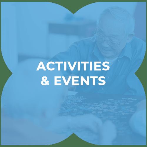 Activities and events at Harmony at Harts Run in Glenshaw, Pennsylvania