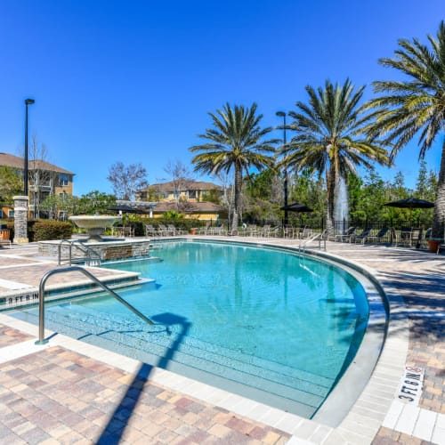 Resort-Inspired pool at Courtney Isles in Yulee, Florida
