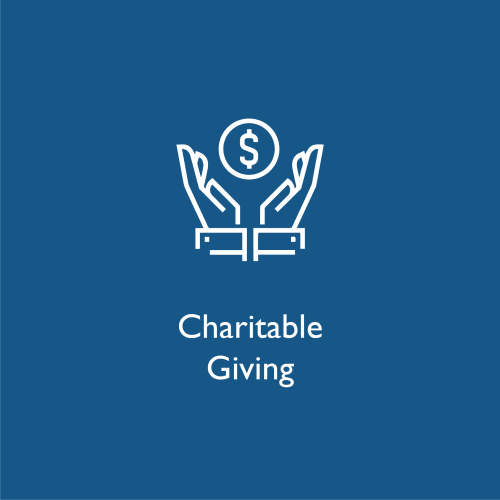 Charitable giving at WRH Realty Services, Inc
