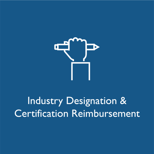 Industry designation and certification reimbursement at WRH Realty Services, Inc