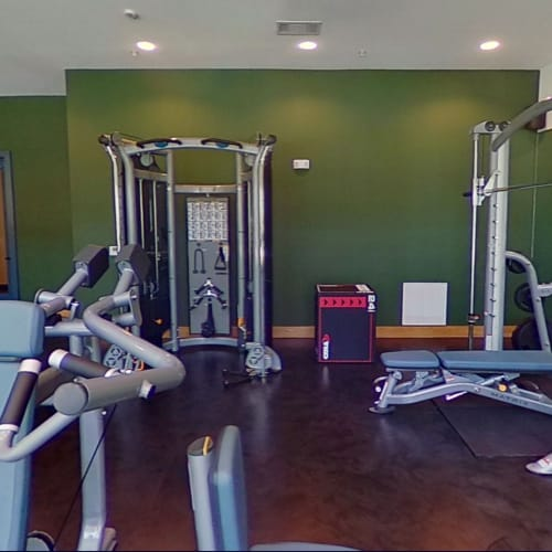 View virtual tour for the fitness center at 4600 Ross in Dallas, Texas